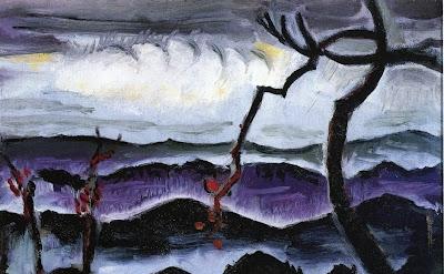 Man Ray, Hills, 1914, 26 x 30 cm