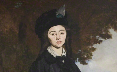 Édouard Manet, Portrait of Madame Brunet, 1860–63, reworked by 1867, Oil on canv