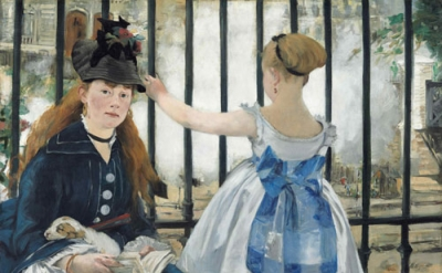 Edouard Manet, The Railway, 1873, oil on canvas, 93.3 x 111.5 cm (National Galle