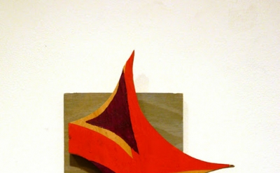 "Martha Clippinger, gig, 2010 acrylic on wood 7.5 x "" x 1.25 inches (photo Kris C"
