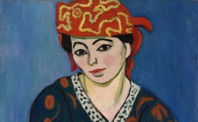 Matisse, Red Madras Headdress ©2011 Succession H. Matisse / Artists Rights Socie