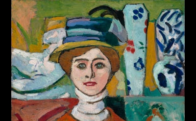 Henri Matisse, La fille aux yeux verts (The Girl with Green Eyes), 1908 (collect