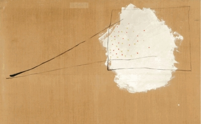 Joan Miró, Painting, 1927, Oil and aqueous medium on glue-sized canvas, 44 11/16