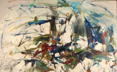 George Went Swimming at Barnes Hole, but It Got Too Cold, 1957. Oil on canvas. F