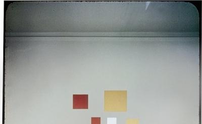 Piet Mondrian's 12 East 59th Street studio, New York, photographed by Fritz Glar