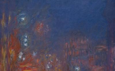Claude Monet, Leicester Square, 1901, oil paint on canvas, 80.5 x 64.8 cm (Coll. Fondation Jean et Suzanne Planque, in deposit at Musée Granet, Aix-en-Provence, photograph © Luc Chessex)