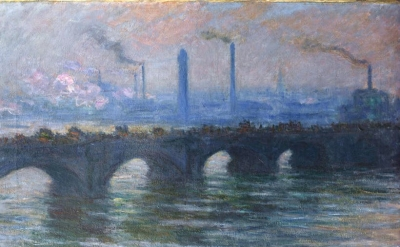 Claude Monet, Waterloo Bridge, Overcast Weather, 1899-1903