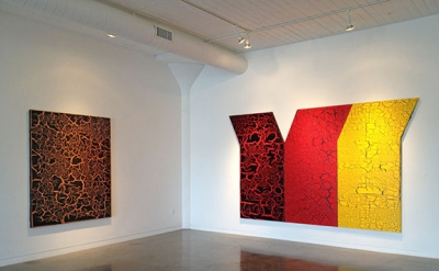 Installation View: Ed Moses: Yesterday's Tomorrow at Brian Gross Gallery, San Fr