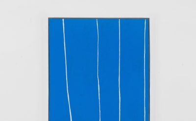 Robert Motherwell, Open No. 120, 1969, acrylic on canvas 72 x 42 inches (© The D