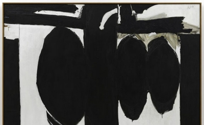 Robert Motherwell, Elegy to the Spanish Republic, No. 57, 1957-1961 (SFMoMA, © D