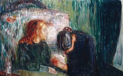 Edvard Munch, The Sick Child, 1907, Oil paint on canvas (© Munch Museum/Munch-El