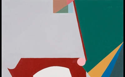 Mario Naves, A Pigeon in Catalonia, 2011 acrylic and oil on canvas on wood 24 x