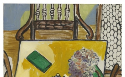 Alice Neel, Still Life (Breakfast Table), 1965, Oil on canvas, 30 x 24 inches (c