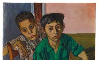 Alice Neel, Two Puerto Rican Boys, 1956 (Jeff and Mei Sze Greene Collection, © The Estate of Alice Neel, courtesy David Zwirner, New York/London and Victoria Miro, London)