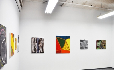 Installation View, There Are No Giants Upstairs at Theodore:Art, Brooklyn (photo