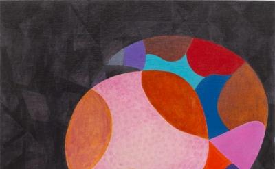 Thomas Nozkowski, Untitled (9-21), 2012, oil on linen on panel, 22 x 28 inches (