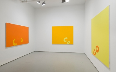 Installation view: Carl Orstendarp: BLANKS, 2014 (courtesy of Elizabeth Dee)
