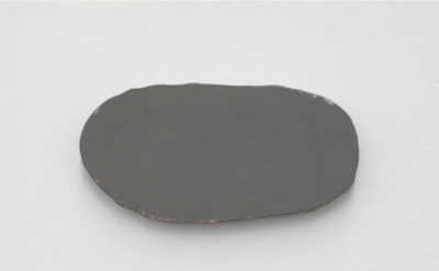 Blinky Palermo, Grey Disk, 1970, oil, synthetic paint on cotton on wood-core ply