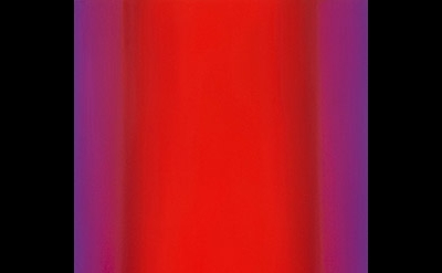 Ruth Pastine, Red Green 4-V6032 (Red Magenta), Sense Certainty Series, 2013, oil