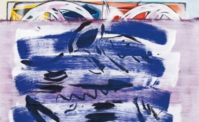 Jon Pestoni, Avenue PM, 2013, oil on canvas, 67 x 60 inches (photo: Fredrik Nils