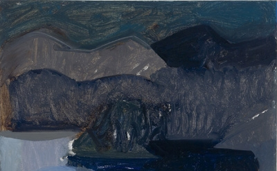 Susannah Phillips, Landscape 1, 2011, oil on canvas, 24 x 29 inches (courtesy of