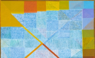 Matt Phillips, Matt Phillips, Canadian Sunset, mixed media on canvas, 54 x 66 in