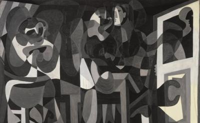 Pablo Picasso, The Milliner's Workshop (Atelier de la modiste), Rue La Boétie, P