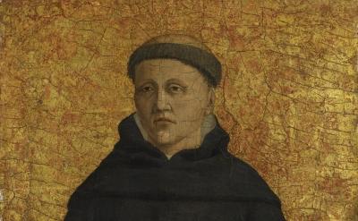 Piero della Francesca, Saint Leonard (?), 1454–69, oil and tempera with gold on