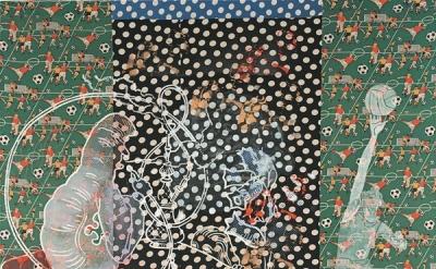 Sigmar Polke, Alice in Wonderland, 1972 (Private Collection © 2014 Estate of Sig