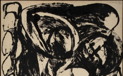 Jackson Pollock. Number 5, 1952 (© The Pollock-Krasner Foundation ARS, NY and DA