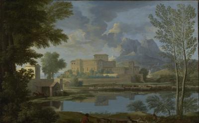 Nicolas Poussin, Landscape with a Calm, 1650–51 (The J. Paul Getty Museum)