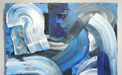 Brendan Smith, Untitled, acrylic on canvas, 14 x 16 iches, 2012 (courtesy of FJO