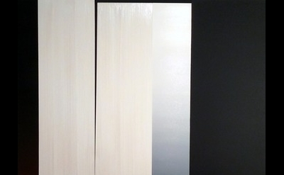Dan Ramirez, La Duquesa: Nocturna Luz II, oil on panel  40h x 30w x 2 inches dee