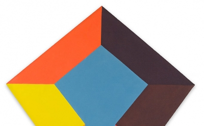 Paul Reed, Marmara, 1968, 54 x 45 inches, acrylic on canvas (courtesy of D. Wigm