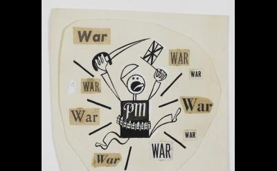 Cartoon by Ad Reinhardt (2013 Estate of Ad Reinhardt, Artist Rights Society (ARS