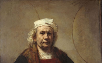 Rembrandt, Portrait of the Artist, 1665, oil on canvas, 45 x47 inches (courtesy