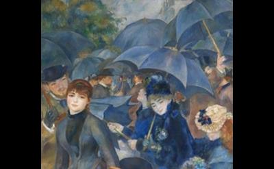 Pierre-Auguste Renoir, The Umbrellas, c. 1881 and 1885, Oil on canvas, 71 x 45 i