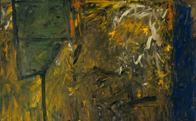 Milton Resnick, Runaway, 1958. oil on canvas, 59 x 59 inches (© The Milton Resni