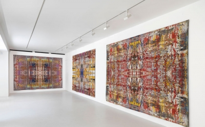Installation View: Gerhard Richter: Tapestries at Gagosian Gallery, London (cour