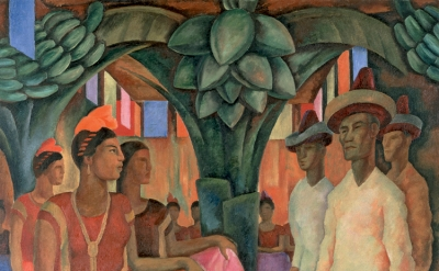 Diego Rivera, 'Dance in Tehuantepec (Baile in Tehuantepec)', 1928, © 2013 Banco