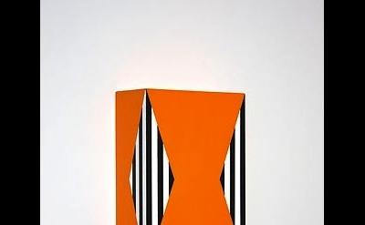Richard Roth, Under the Influence, 2012, acrylic on birch plywood panel 12 x 8 x