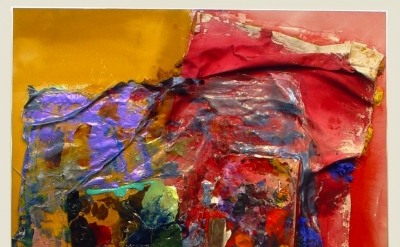 Susan Roth, Provincetown, 2005, acrylic, acrylic skin and canvas on canvas, 58.5