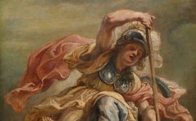 Peter Paul Rubens, Prudence (Minerva) Overthrowing Ignorance (or Sedition), c.16