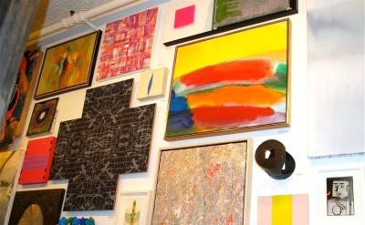 Installation View: Sideshow Nation II: At the Alamo, curated by Richard Timperio