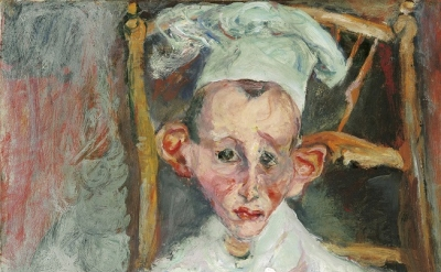 Chaïm Soutine, Pastry Cook of Cagnes, 1922, 64.8 x 50 cm (Private collection)