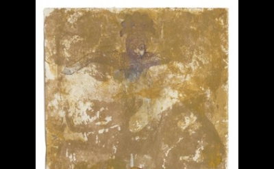 Nancy Spero, The Underworld, 1997, Handprinting and printed collage on paper, 63