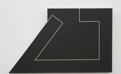 Ted Stamm, 78SW-9, 1978, oil on canvas, 32 × 20 inches (courtesy of the estate o