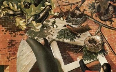 Stanley Spencer, The Builders, , 1935, oil on canvas, 111 x 91 cm, Yale Center f