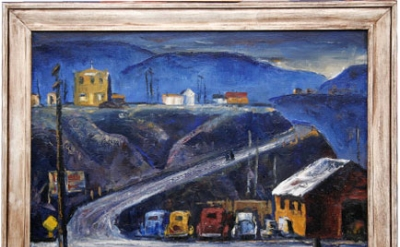 Clyfford Still, Grand Coulee Dam, 1937 (Private Collection)