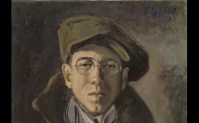 Clyfford Still, PH-672, 1923, oil on canvas, 18 x 15 1/2 inches (Photo: Ben Blac